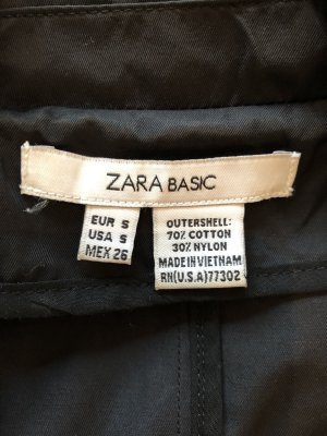 Zara Basic Trenchcoat zwart