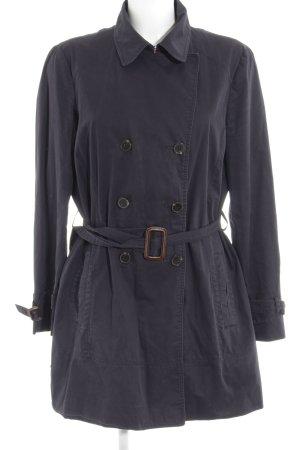 Zara Trenchcoat donkerblauw klassieke stijl