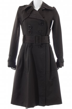 Zara Trenchcoat brun foncé style classique