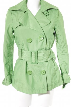 Zara Trenchcoat groen casual uitstraling