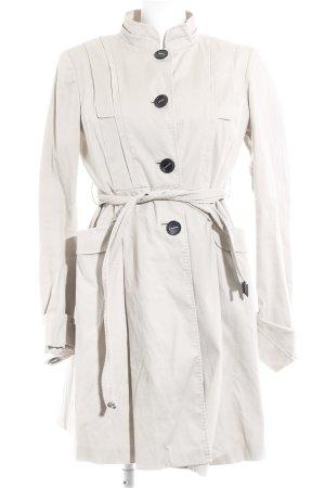 Zara Trenchcoat hellbeige Casual-Look
