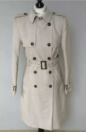 Zara Trenchcoat beige clair-brun