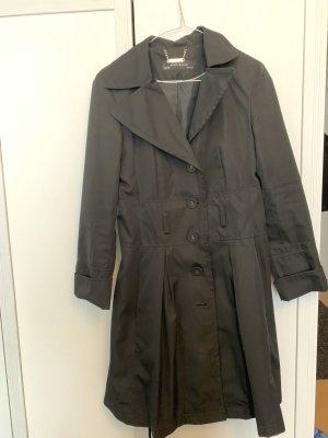 Zara Trenchcoat Mantel Jacke s schwarz
