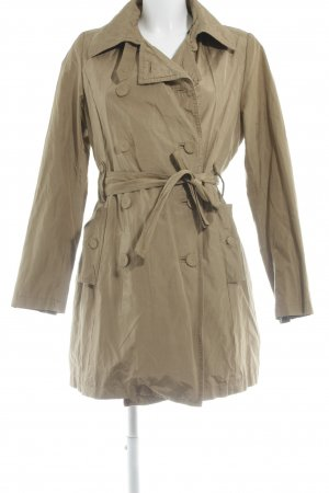 Zara Trenchcoat olivgrün Casual-Look