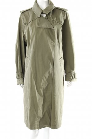 Zara Trenchcoat olivgrün Military-Look