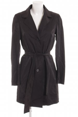 Zara Trenchcoat schwarz Casual-Look