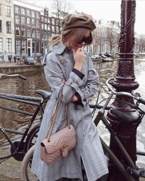 Zara Veste double argenté-noir