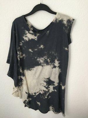 Zara Trf Batikshirt asymmetrisch