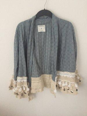 Zara Trf Blogger Kimono Jacke mit Verzierungen