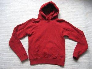 zara trf bluse rot kapuze gr. xs 34 /s