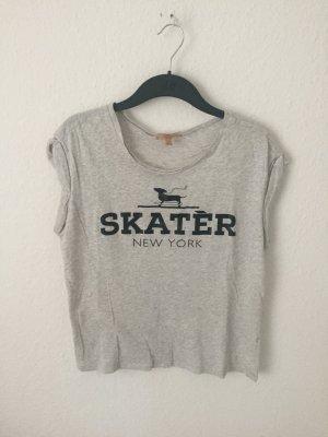 Zara Trf Boyfriend Shirt mit Print