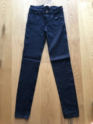 Zara TRF High Waist Jeans Dark Blue 34