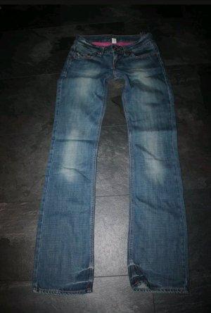 Zara TRF Hüft-Jeans W26