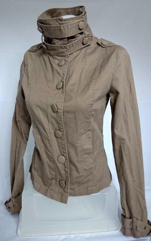 Zara Trf Jacke in Khaki (Gr. S)