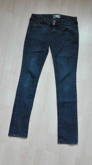 TRF Straight Leg Jeans dark blue