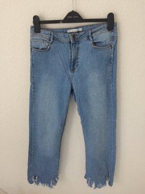 Zara Trf Jeans Hellblau