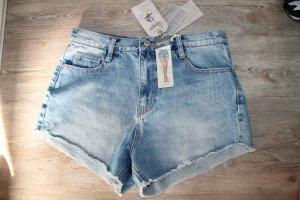 ZARA TRF Jeans high waist vintage Gr.38 Hose Hot Pants Shorts top