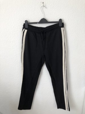 Zara Trafaluc Sweat Pants black-natural white
