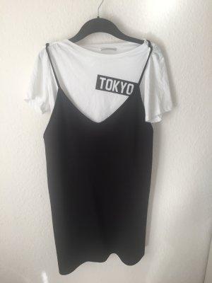 Zara Trf Kleid im Lagen -Look