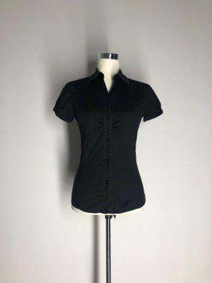 Zara Trafaluc Camisa de manga corta negro Algodón