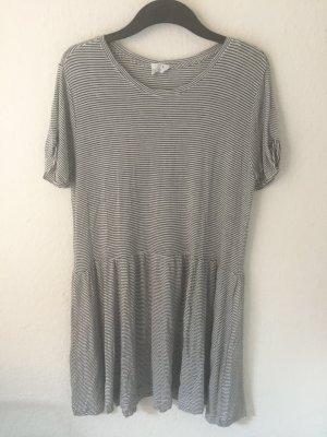 Zara Trf lässiges Kleid gestreift