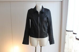 TRF Leather Jacket black leather