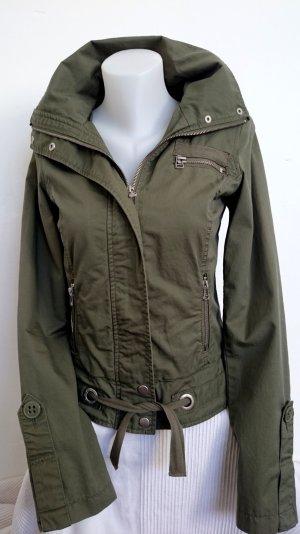 Zara Trf Military Jacke in Khaki (Gr. S)