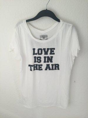 Zara TRF Oversized Shirt mit Love Print