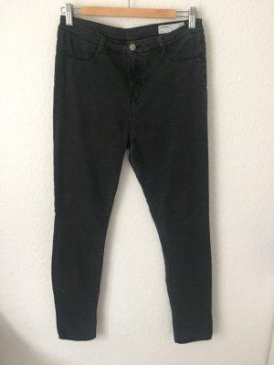 Zara Trf Skinny Jeans Grau schwarz
