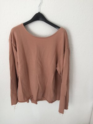 Zara Trf Sweatshirt in Wickeloptik