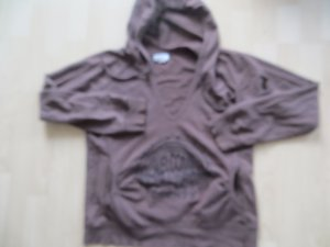 Zara trf Sweatshirt Kapuzenshirt braun Känguruhtasche Gr.L 40