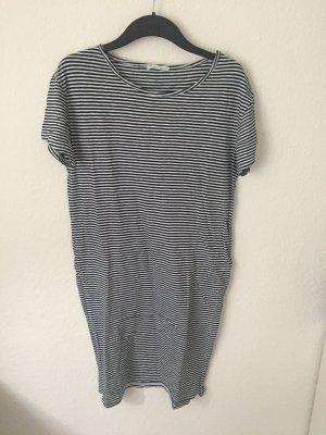 Zara Trf T Shirt Kleid gestreift