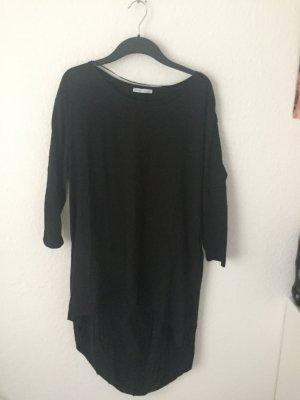 Zara Trf Vokuhila Shirt Schwarz
