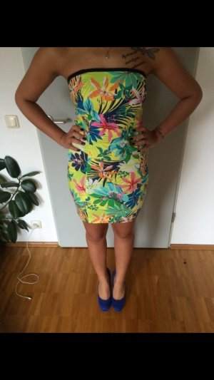 Zara Tropical Bodycon Dress