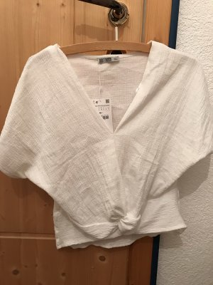 Zara Top asymétrique multicolore