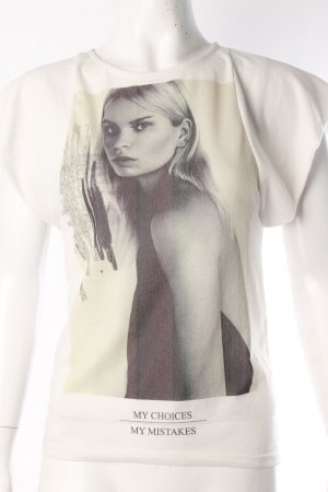 Zara Tshirt mit Frauenprint