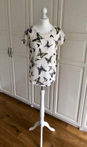 Zara Tshirt Schmetterlinge S