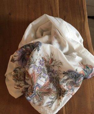 Zara - Tuch XXL Paisley Floral Blumen