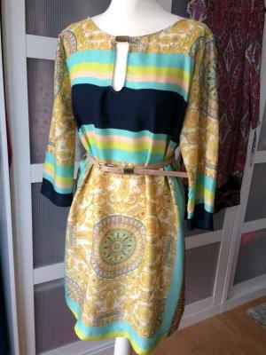 Zara Tunika 38/4040 Pailsey Blogger Blumen Kleid