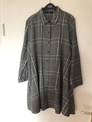 Zara Woman Lange blouse zwart-wit