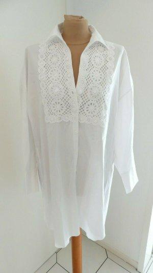 Zara Tunika Kleid Popelin Gr. L neu mit Etikett