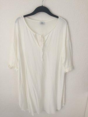 Zara Tunika Kleid Weiß