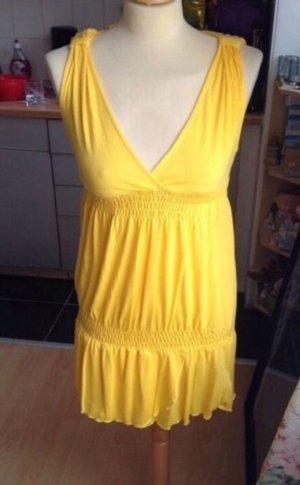 Zara Túnica amarillo-naranja dorado
