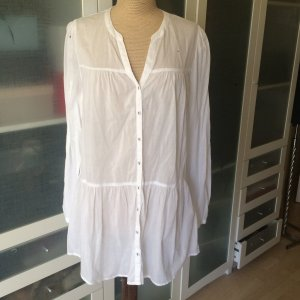 Zara Tunic Dress white cotton