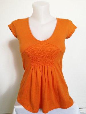 Zara Tunika Shirt mit Raffung (Gr. S)