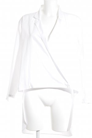 Zara Tunikabluse weiß schlichter Stil