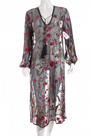 Zara Tunikakleid florales Muster Romantik-Look