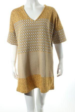 Zara Tunikakleid grafisches Muster Boho-Look