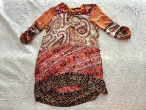 Zara Tunikakleid Paisleymuster
