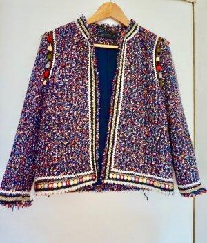 Zara tweed Blazer GR M